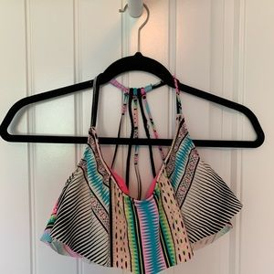 Other - Cute multi colored bathing suit top!